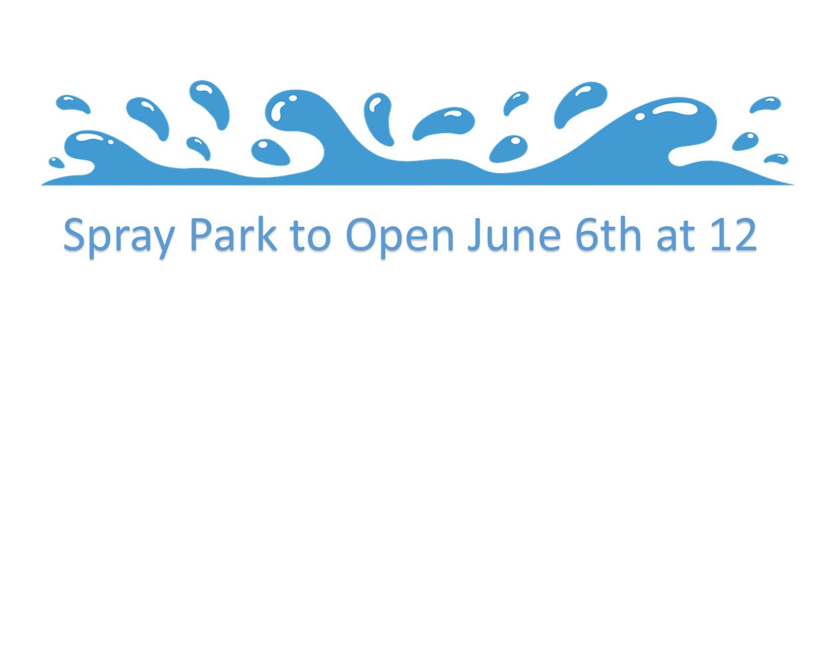 Spray Park Update - Click Here