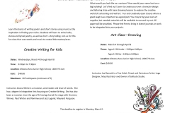 Writing-Flyer